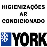 Higienizações ar-condicionado York