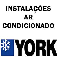 Instalações ar-condicionado York
