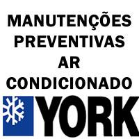 Manutenções preventivas ar-condicionado York