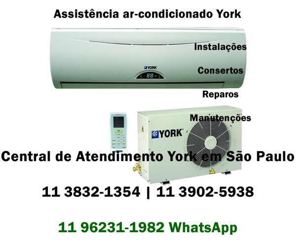 Assistência ar-condicionado York