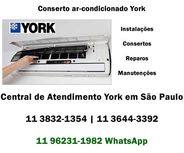 Conserto ar-condicionado York