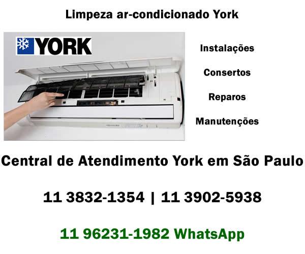 Limpeza ar-condicionado York