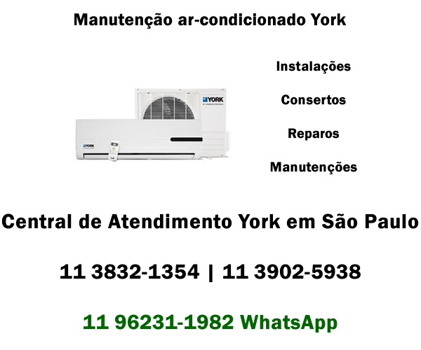 Manutenção ar-condicionado York