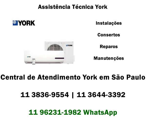 assistência técnica York