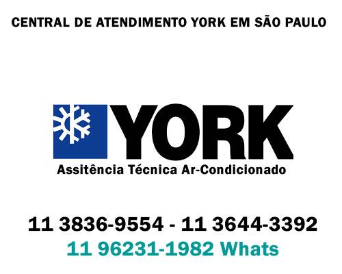 Central de atendimento ar-condicionado York